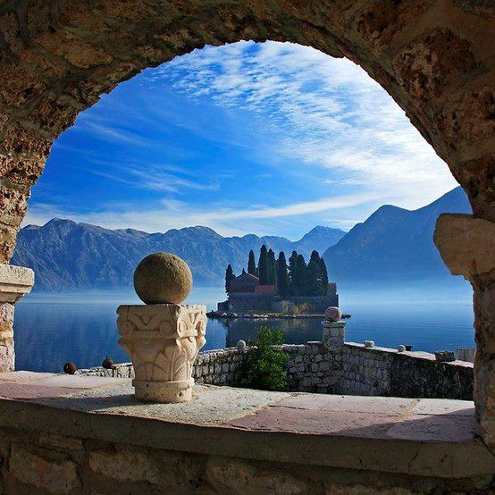 The lookout point, Kotor BayBay of Kotor, Montenegro is roughly 70km from the capital of Dubrovnik inCroatia. This picturesque little village is surrounded by city walls that were once built by ...
